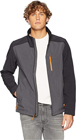 Modern Power Slim Fit Zip Windproof Softshell Jacket
