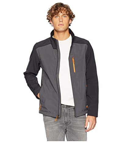 Timberland PRO Modern Power Slim Fit Zip Windproof Softshell Jacket (Pewter) Men