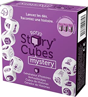 Asmodee Story Multi-Language Cubes Story Cubes, Mystery multicoloured