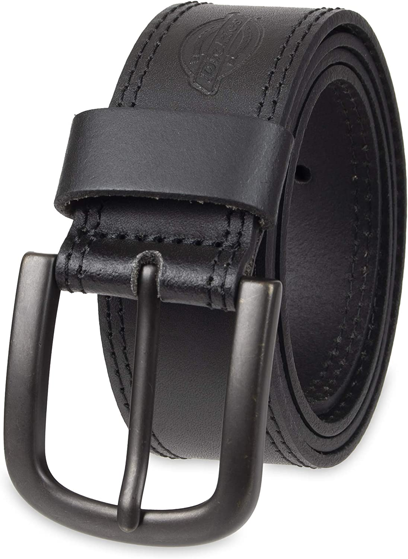 Dickies Men's Casual Leather Belt