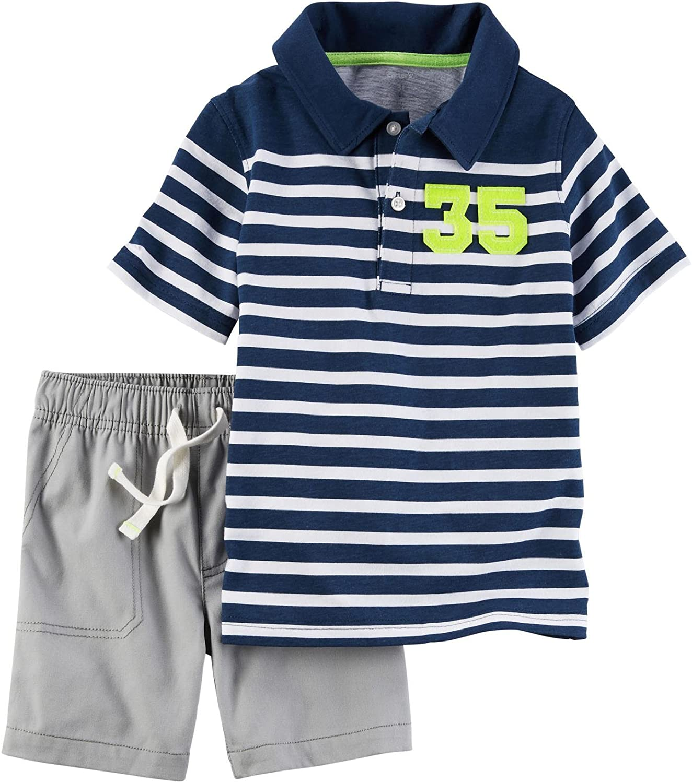 Carter's Baby Boys' 2 Pc Playwear Sets 229g429, Multi, 12M