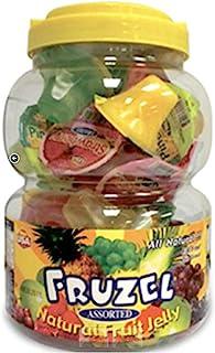 Fruzel Assorted Natural Fruit Juice Jelly Cups 51 Ounces