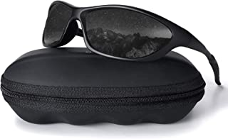 Polarized Sports Sunglasses for Men Driving Cycling Fishing 100% UV Protection