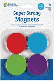 Learning Resources LER2689 Super Strong Magnets Set