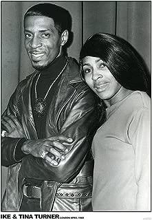 IKE & Tina Turner London April 1968 Music Album Rock Roll Vintage Cool Wall Decor Art Print Poster 24x36