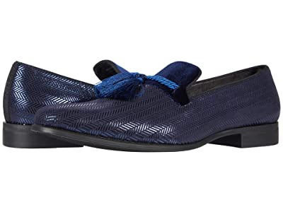 Stacy Adams Sonata Tassel Slip-On Loafer (Navy) Men