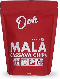 Ooh SG Cassava Chips, Mala ,115 grams