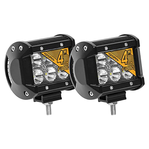 Eyourlife Led Light Pods, 18w Led Work Light Cree Led 4x4 Off Road Light Bar