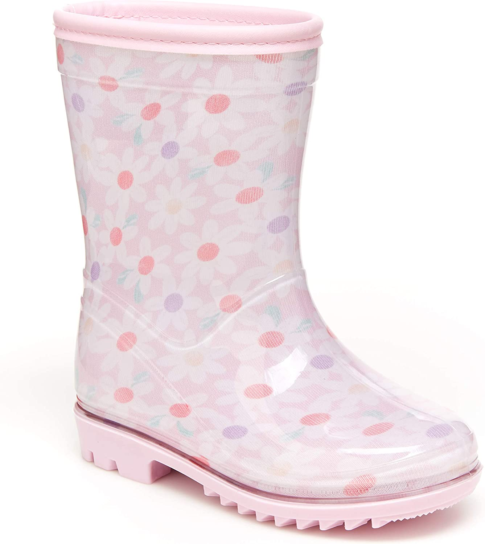 | Carter's Unisex-Child Isa Rain Boot | Rain Boots