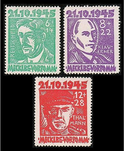 Goldhahn SBZ postfrisch  mit Nr. 20-22 Briefmarken für Sammler