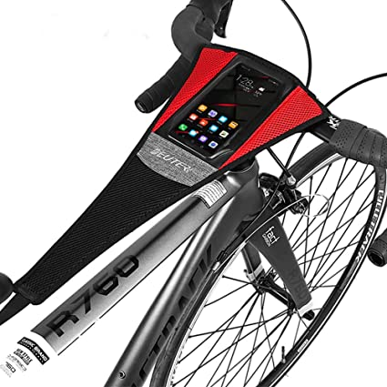 22.8 x 9 inch Indoor Bike Bicycle Trainer Sweat Cather Strap Net Frame Guard