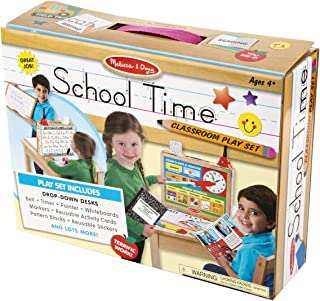 Melissa and Doug School Time! Classroom Play Set 8514 - Pretend Play