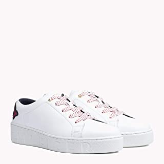 TOMMY HILFIGER Women's Sequinned Logo Trainers Sequinned Logo Trainers