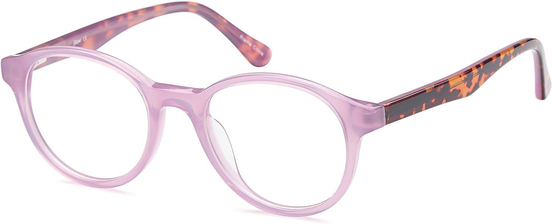 DALIX Girls Prescription Eyeglasses Frames 471914041 RXable in Brown, Purple