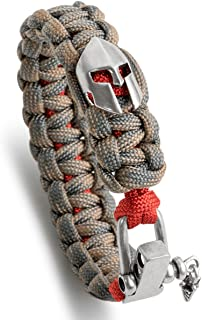 Hand Woven Paracord Bracelet Multi Style with Retro Theme Accessories & Adjustable D Shackle