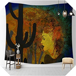 Wall Art Tapestry| City New York Barren Desolate Hanging Tapestry Wall Handmade Decor Art Bedroom Living Room Dorm-1-150cm...