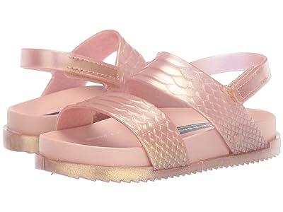 Mini Melissa Mini Cosmic Sandal 03 (Toddler/Little Kid) (Rose Gold) Girls Shoes