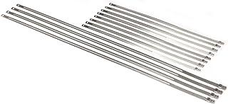 Abraçadeiras de bloqueio positivo de aço inoxidável DEI para aplicação de alto calor