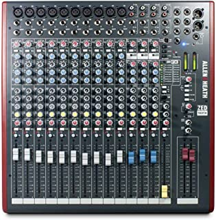 Allen & Heath ZED-16FX Multipurpose USB Mixer with FX for Live Sound & Recording - B-Stock