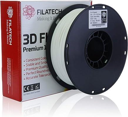 Filatech PLA Filament, Snow White, 1.75mm, 1 kg, Made in UAE