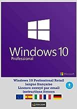 Windows 10 Pro Version complète francais Clé de licence originale par email + Instructions de iTeczon®