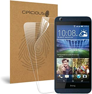 Celicious Vivid Invisible Glossy HD Screen Protector Film Compatible with HTC Desire 628 [Pack of 2]