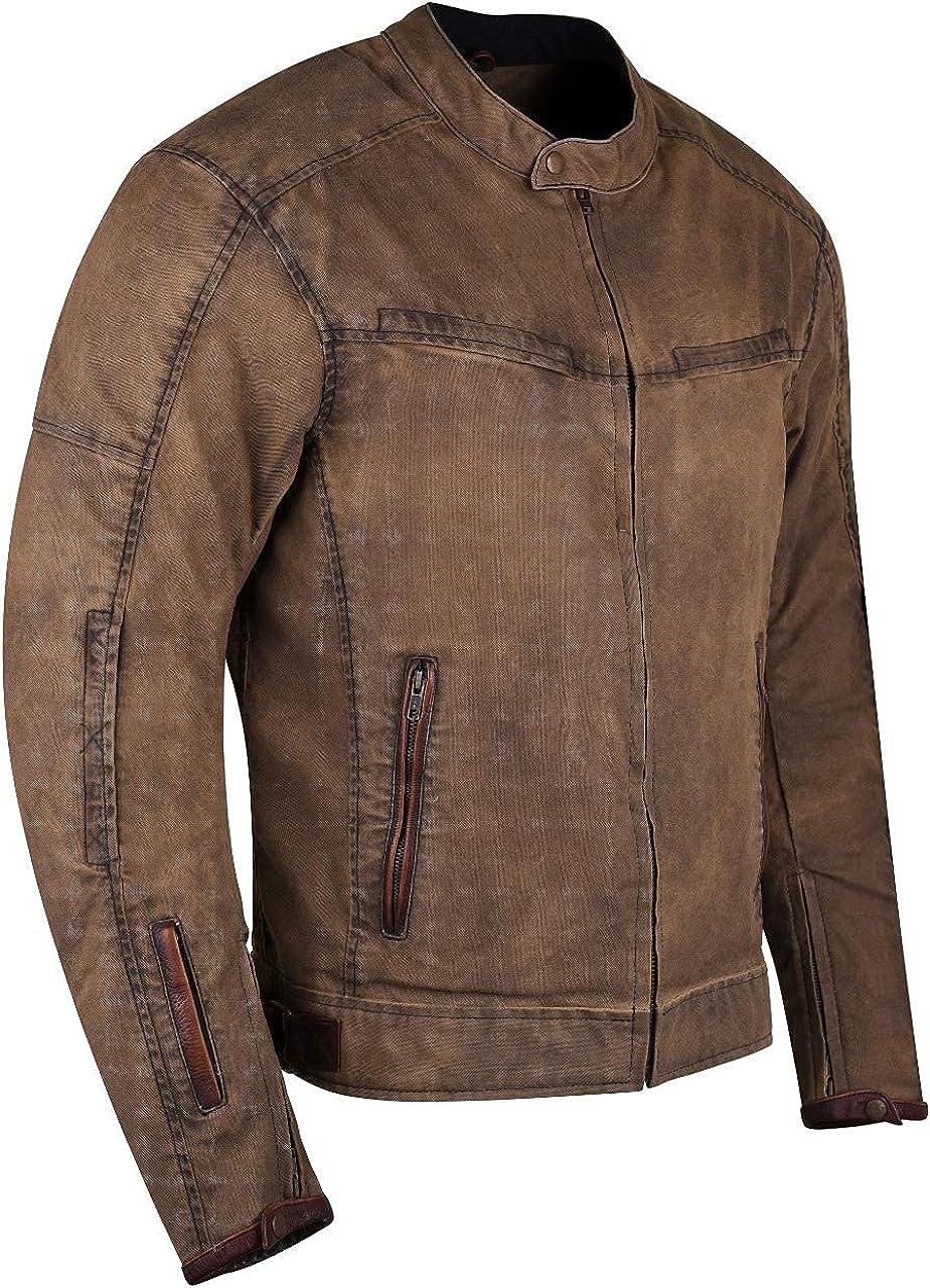 Men's Wax Cotton Scooter Jacket