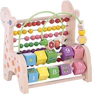 Canoe Giraffe Counting & Slider Maze Toy - CT201216RJ87, Multi Color