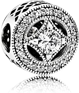 Sterling Silver Vintage Allure Charm 791970CZ