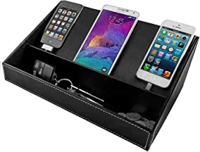 Charging Station for Multiple Devices, Desk Docking Station Organizer for Cell Phone,..