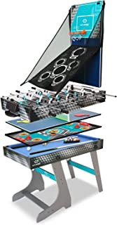 Hy-Pro 4' 8 in 1 Folding Game Combo Table