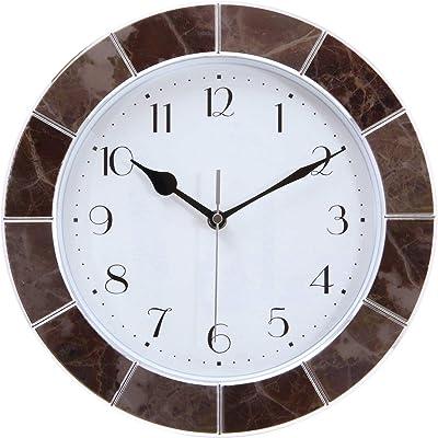 不二貿易(Fujiboeki) 掛け時計 ブラック 直径30cm ゴードン 27202