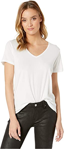 Skyler Ultra Jersey Relaxed V-Neck Tee