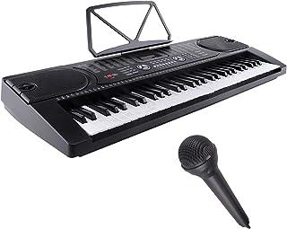 LAGRIMA Electric Piano Keyboard, 61 key Keyboard Music Piano, Portable Electronic Digital Piano with