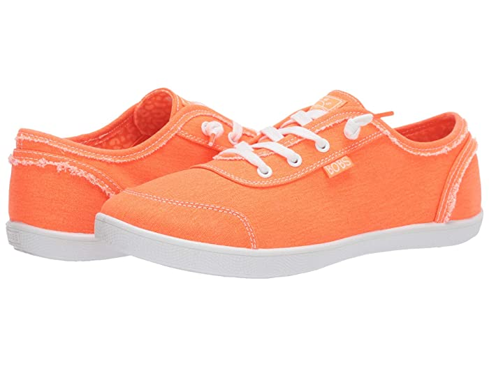 Vintage Sneakers, Retro Designs for Women BOBS from SKECHERS Bobs B Cute Neon Orange Womens  Shoes $40.99 AT vintagedancer.com