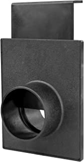 POWERTEC 70133 2-1/2-Inch Blast Gate for Dust Collector/Vacuum Fittings