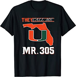 Miami Hurricanes Mr. 305 T-Shirt - Apparel