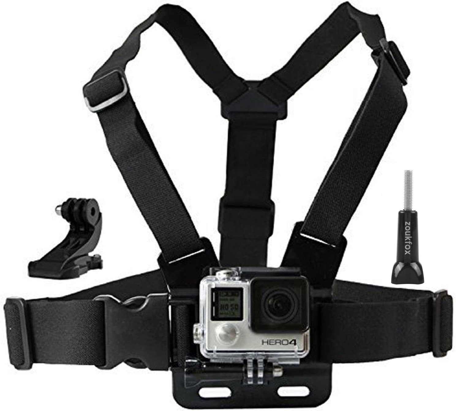 Zoukfox Chest Belt Strap Harness Headstrap Camera Same day shipping Mount + Ranking TOP2