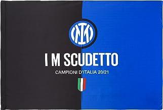 Inter Vlag I M Scudetto 20-21, Champions d'Italië, 100 x 140 cm, unisex volwassenen, zwart/blauw, 100 x 140 cm