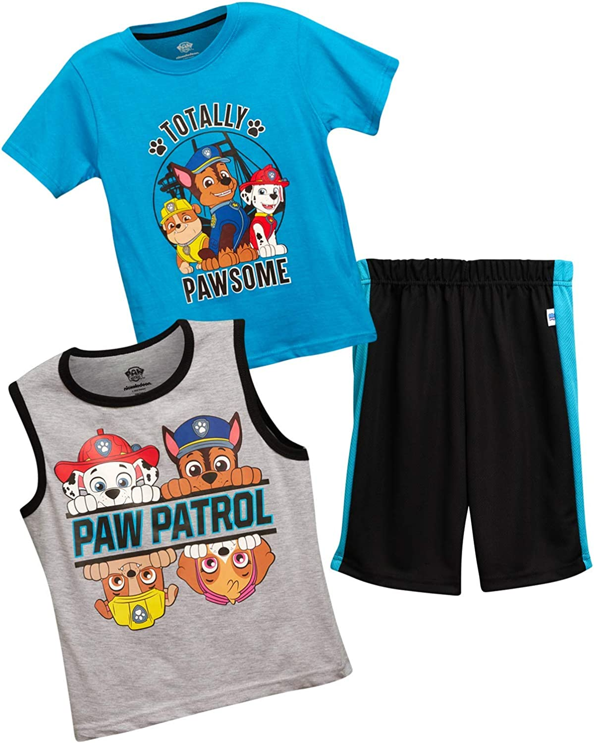 Nickelodeon Memphis Mall Paw At the price of surprise Patrol Boys 3-Piece Top Tank an Summer T-Shirt