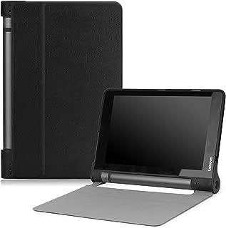 MoKo Lenovo Yoga Tab 3 8 Case - Ultra Lightweight Smart Slim Shell Stand Cover Case for Lenovo Yoga Tab 3 8 Inch 2015 Tablet, Black