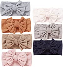 Best Baby Girl Nylon Headbands Newborn Infant Toddler Hairbands and Bows Child Hair Accessories Review