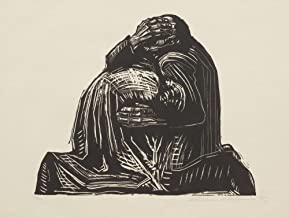 """Käthe Kollwitz - The Parents fromWar, Stretched Canvas Gallery Wrapped. 38x48"""""""