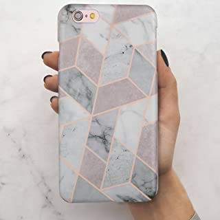 LUMARKE iPhone 6 Case,iPhone 6S Case,Slim-Fit Glossy TPU Clear Bumper Flexible Soft Rubber Silicone Best Protective Cover Phone Case for iPhone 6 6s Cute for Girls Women (Grey)