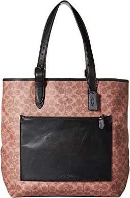 Metropolitan Soft Tote in Signature