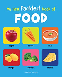My First Padded Book Of Food