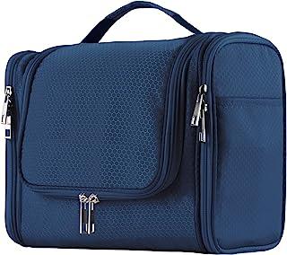 کیف بزرگ توالت آویز با ظرفیت بزرگ برای خانمها و خانمها ، کیسه دوش حمام ضد آب قابل حمل ، کیسه تراش سبک وزن ، کیسه تراشنده سبک ، جعبه آرایش کننده فلزی محکم