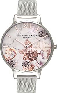 Olivia Burton Marble Floral White Dial Ladies Watch OB16CS10