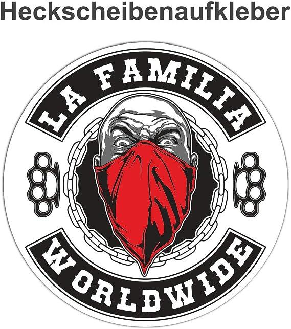 Aufkleber La Familia Worldwide Wetterfest Auto