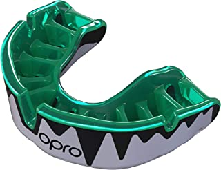 OPRO Platinum Level Mouthguard | Gum Shield for Rugby, Hockey, Boxing, and Other Contact Sports - 18 Month Dental Warranty (Ages 10+)